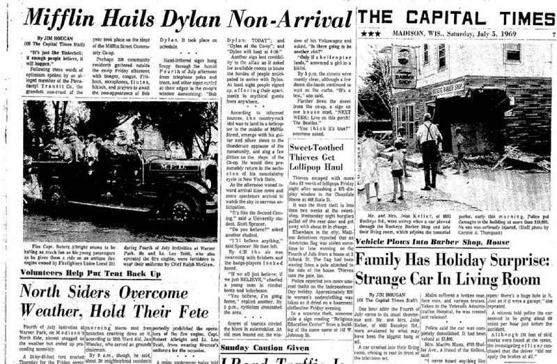 Dylan The Capital Times