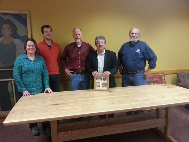 Mayor and Ash Table group photos