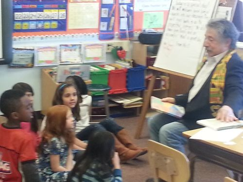 Read Your Heart Out at Falk Elementary