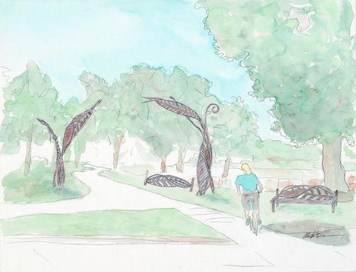 Brittingham Park Garden