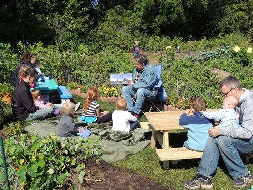 Taste of Elvehjem Garden Storytime