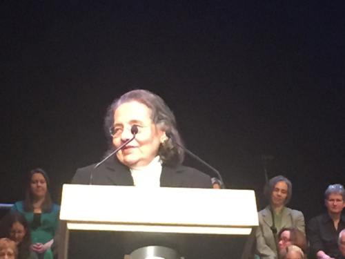 Diane Nash Speaking at MLK Ceremony