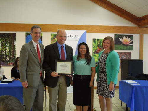 2015 Public Health Awards David Award presentation