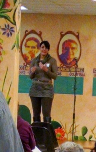 Shiva Speaking at Centro Hispano