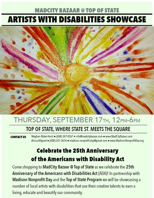Artists with Disabilities Showcase